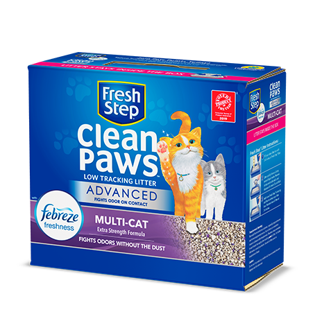 Advanced Clean Paws™ Multi-Cat Scented Litter with the power of Febreze 18.5lb