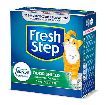 Odor Shield Scented Litter with the power of Febreze 7lb