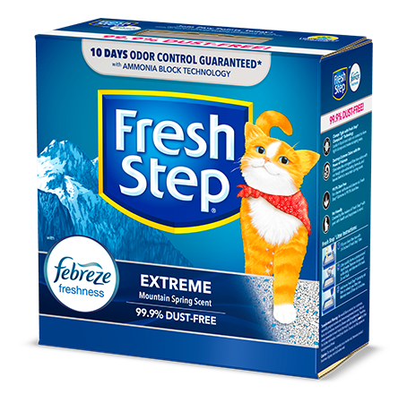 Extreme Scented Litter with the power of Febreze 14lb