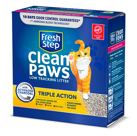 Clean Paws<sup>®</sup> Triple Action Scented Litter 22.5lb