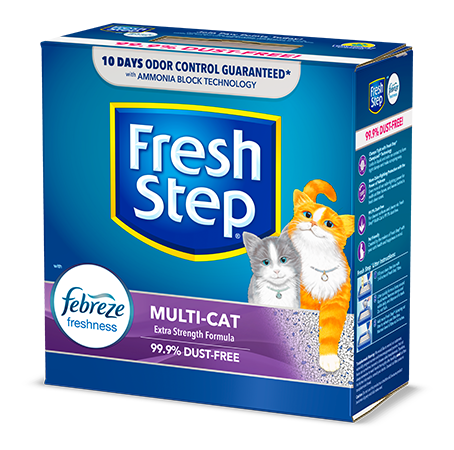 Multi-Cat Scented Litter with the power of Febreze 14lb