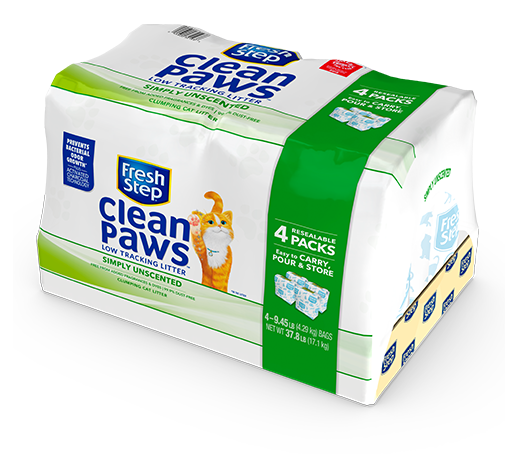 Clean Paws<sup>®</sup> Simply Unscented Litter 37.8lb
