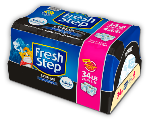 Extreme Scented Litter with the power of Febreze 34lb