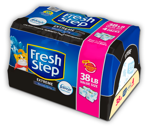 Extreme Scented Litter with the power of Febreze 38lb