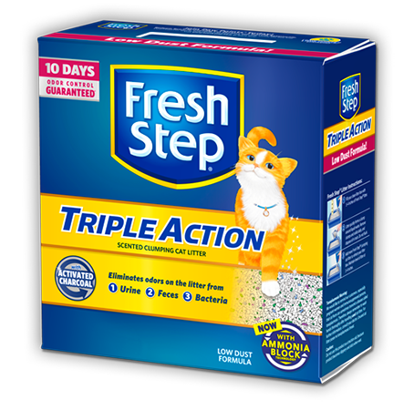 Triple Action Scented Litter 20lb