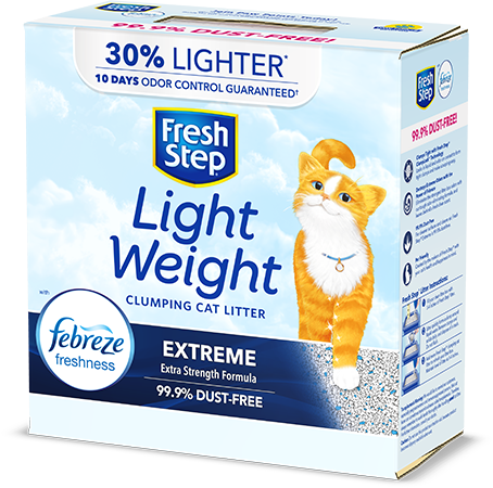 Extreme Lightweight Scented Litter with the power of Febreze 8.6lb