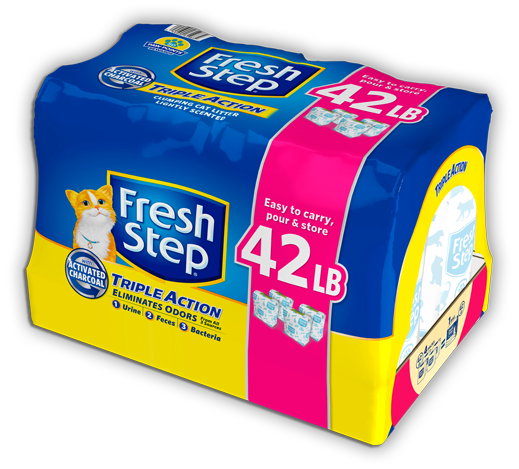 Triple Action Scented Litter 42lb