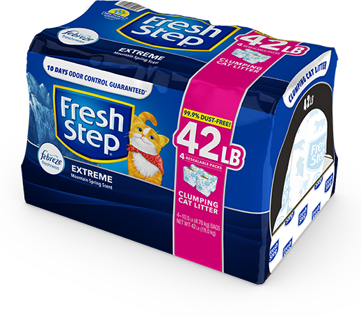 Extreme Scented Litter with the power of Febreze 42lb