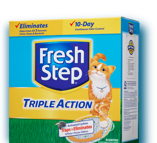 Triple Action Scented Litter 25lb