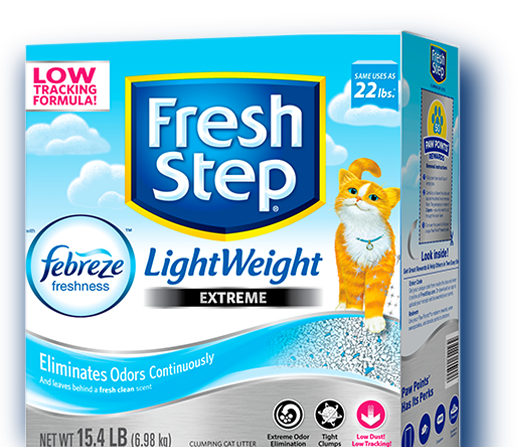 Extreme Lightweight Scented Litter with the power of Febreze™ 15.4lb