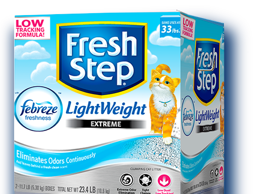Extreme Lightweight Scented Litter with the power of Febreze™ 23.4lb