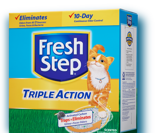 Triple Action Scented Litter 34lb