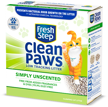 Clean Paws<sup>®</sup> Simply Unscented Litter 22.5lb