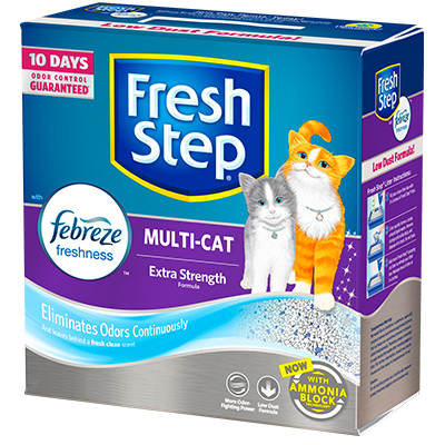 Multi Cat Scented Cat Litter For Multiple Cats Fresh Step 174