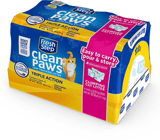 Clean Paws<sup>®</sup> Triple Action Scented Litter 37.8lb