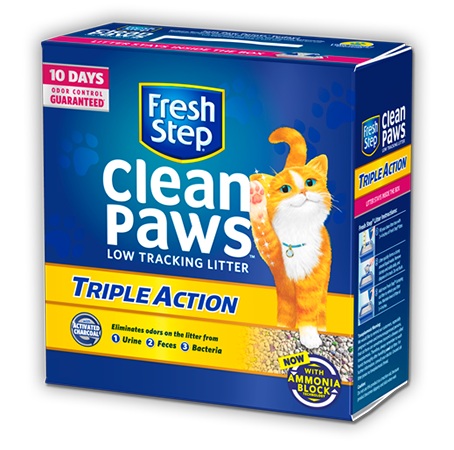 Clean Paws<sup>®</sup> Triple Action Scented Litter 18lb