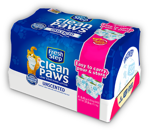 Clean Paws<sup>®</sup> Unscented Litter 37.8lb