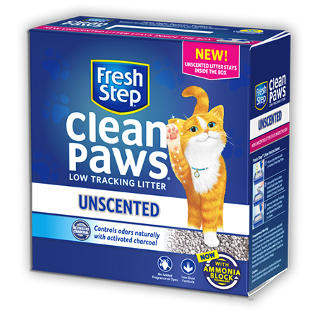 Clean Paws<sup>®</sup> Unscented Litter 18lb