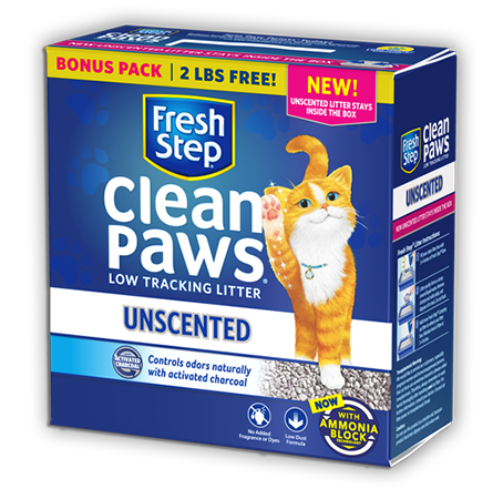 Clean Paws<sup>®</sup> Unscented Litter 24.5lb