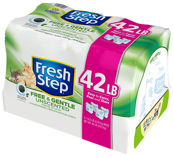 Free & Gentle Unscented Litter 42lb